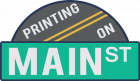 Printing on Main Street Logo